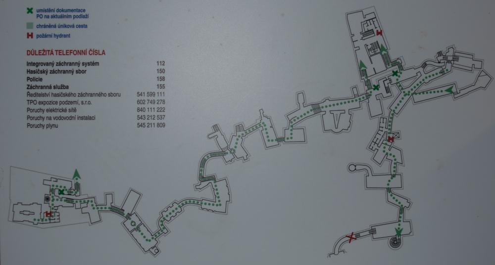Mapa brněnského podzemí