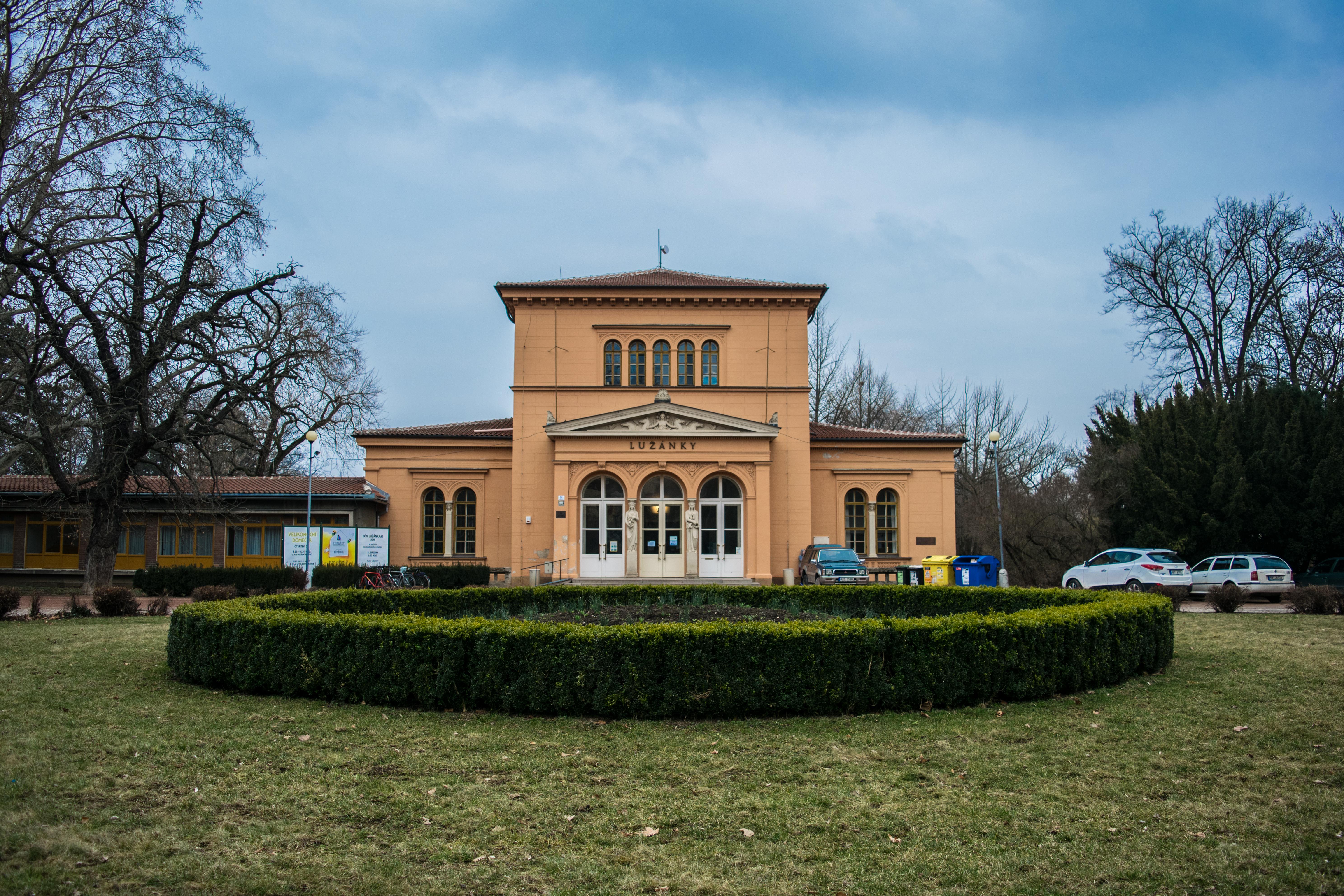 Lužánky v Brně
