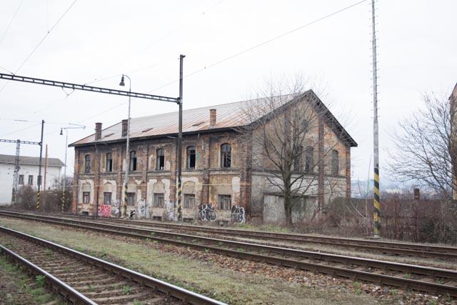 Opuštěné vlakové nádraží Brno – opuštěný dům