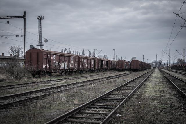 Opuštěné vlakové nádraží Brno – opuštěné vlaky