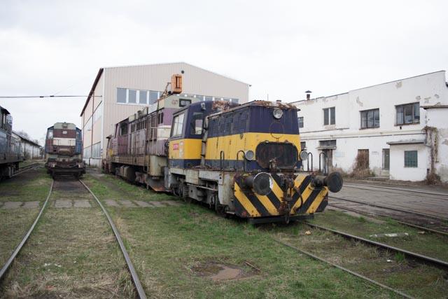 Opuštěné vlakové nádraží Brno – vlaky