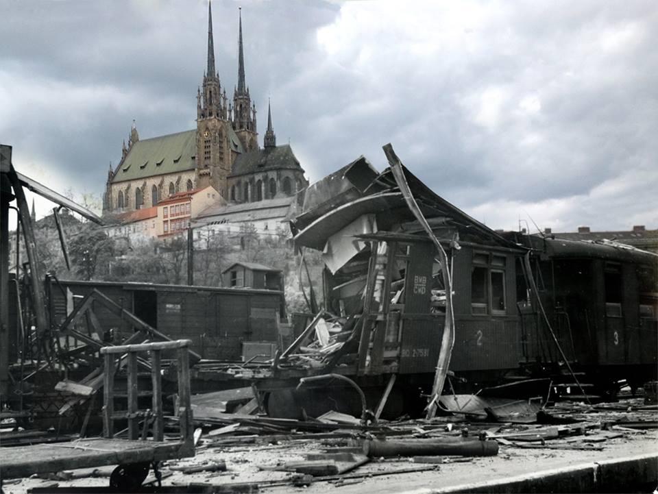 Brno ve válce – před 70 lety a dnes