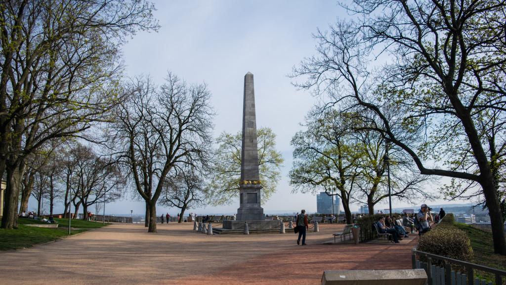 Denisovy Sady obelisk