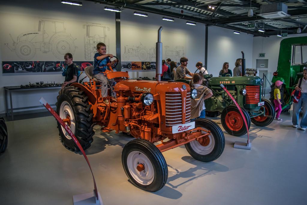 Muzeum traktorů v Brně