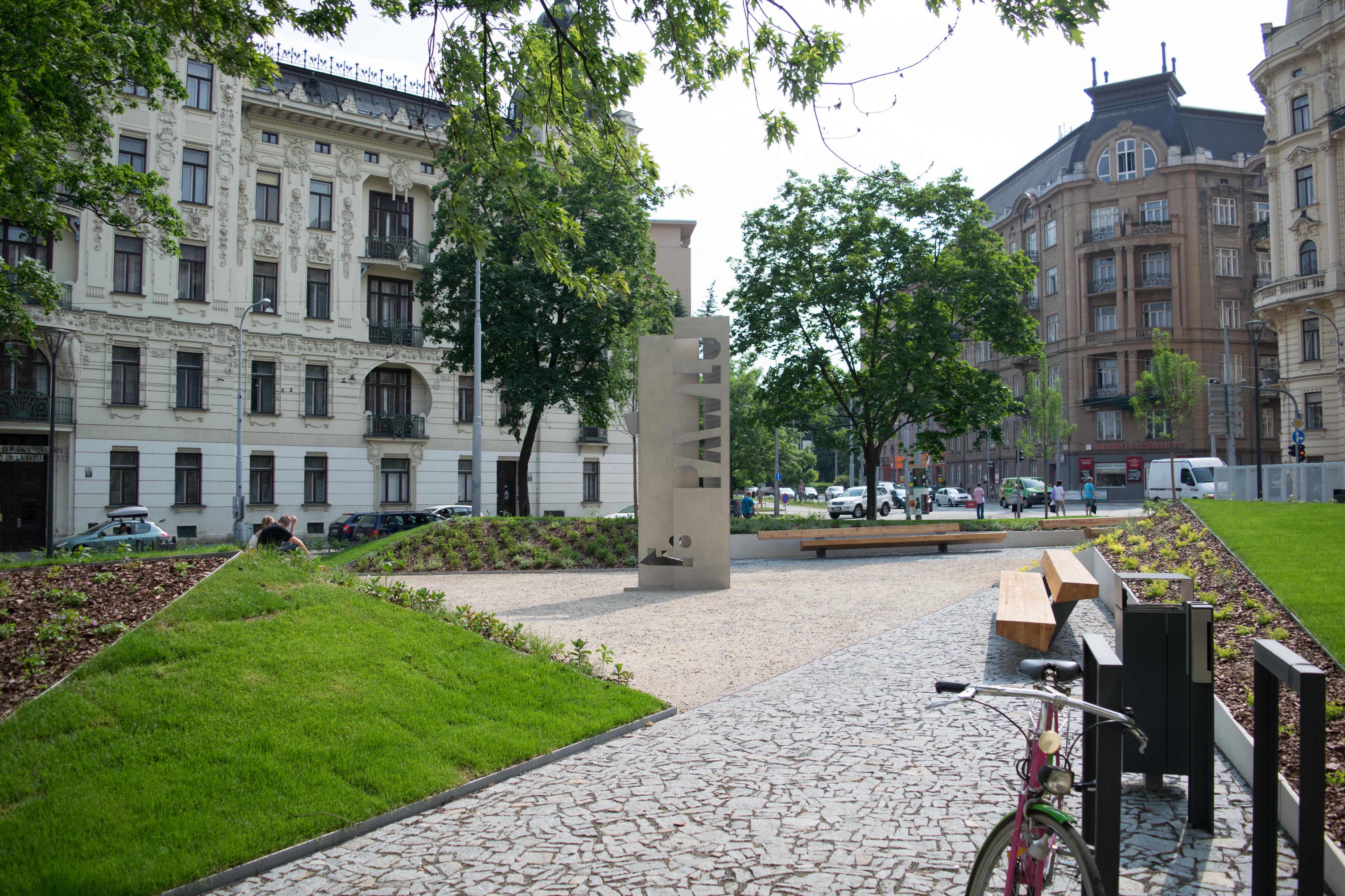 Zrekonstruované Konečného náměstí