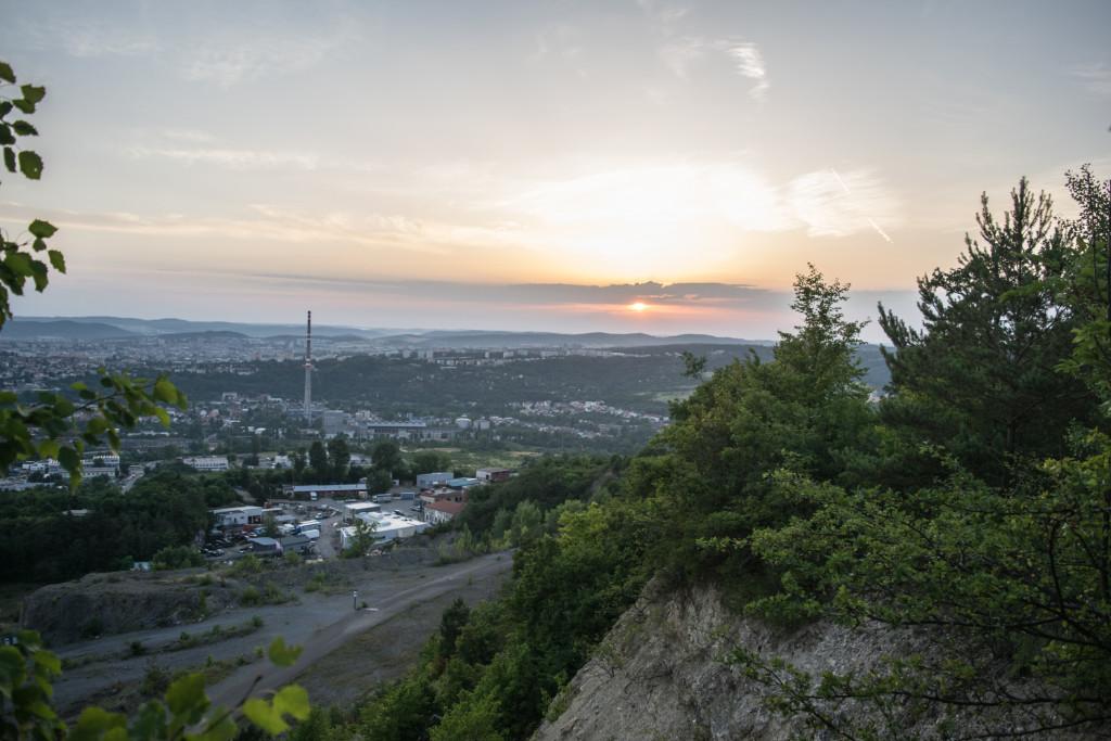 Výhled na Brno z Hád