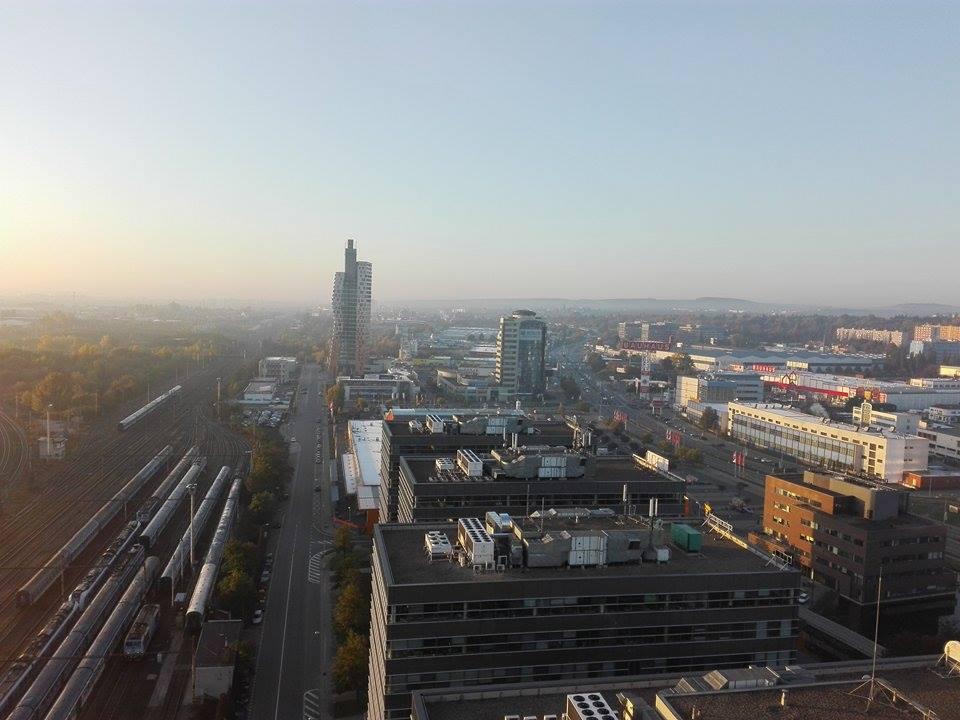 Pohled na Brno ze Spielberk Tower B
