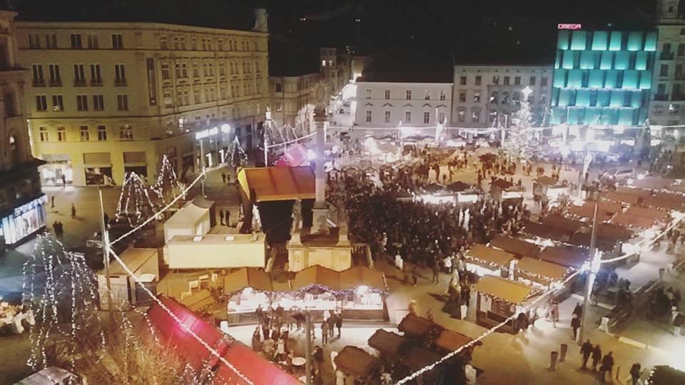 Vánoční náměstí Svobody, autor Šárka Jursová