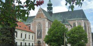 Bazilika Nanebevzetí Panny Marie na Mendlově náměstí — gotický klenot