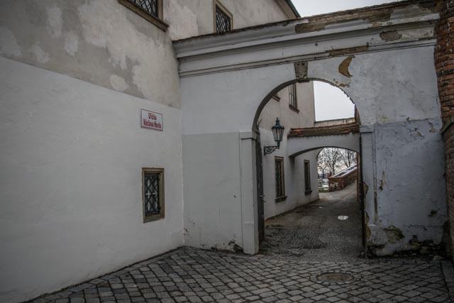 Brno ulička Václava Havla