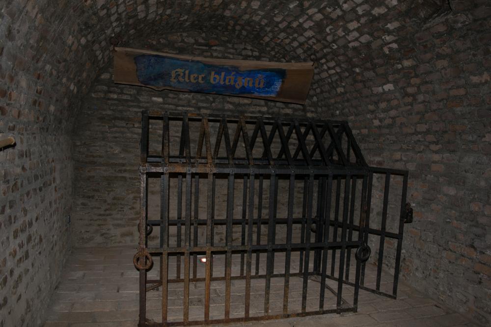 Klec v brněnské podzemím pod Zelným trhem