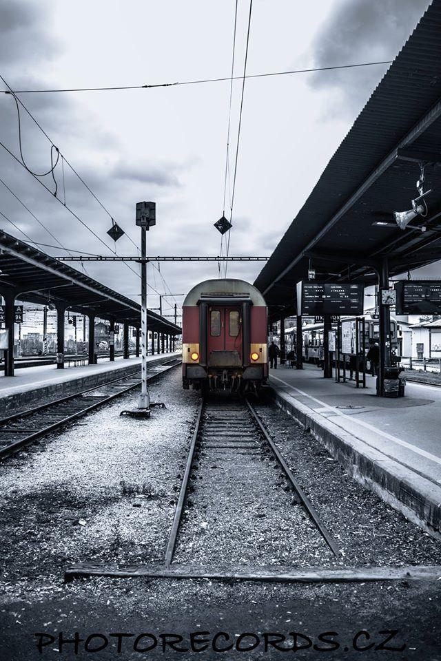 Brno hlavní nádraží nástupiště 5