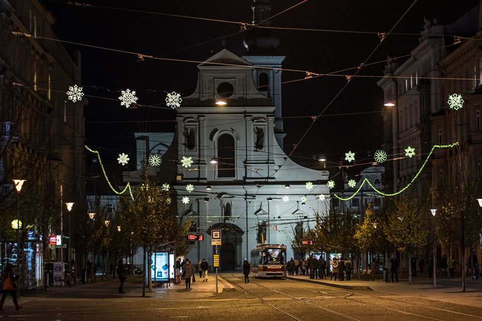 Noční Brno – sv. Tomáš