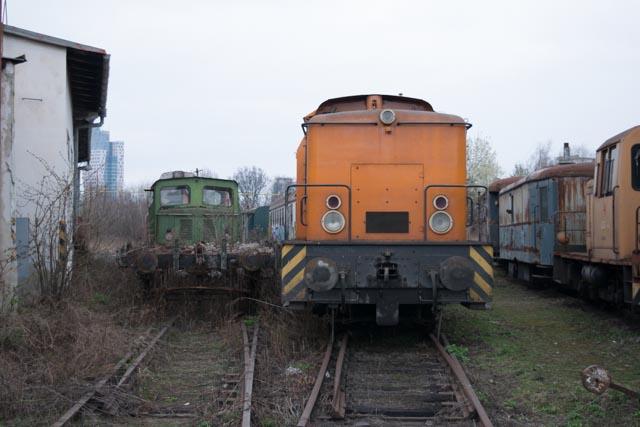 Brněnské opuštěné nádraží