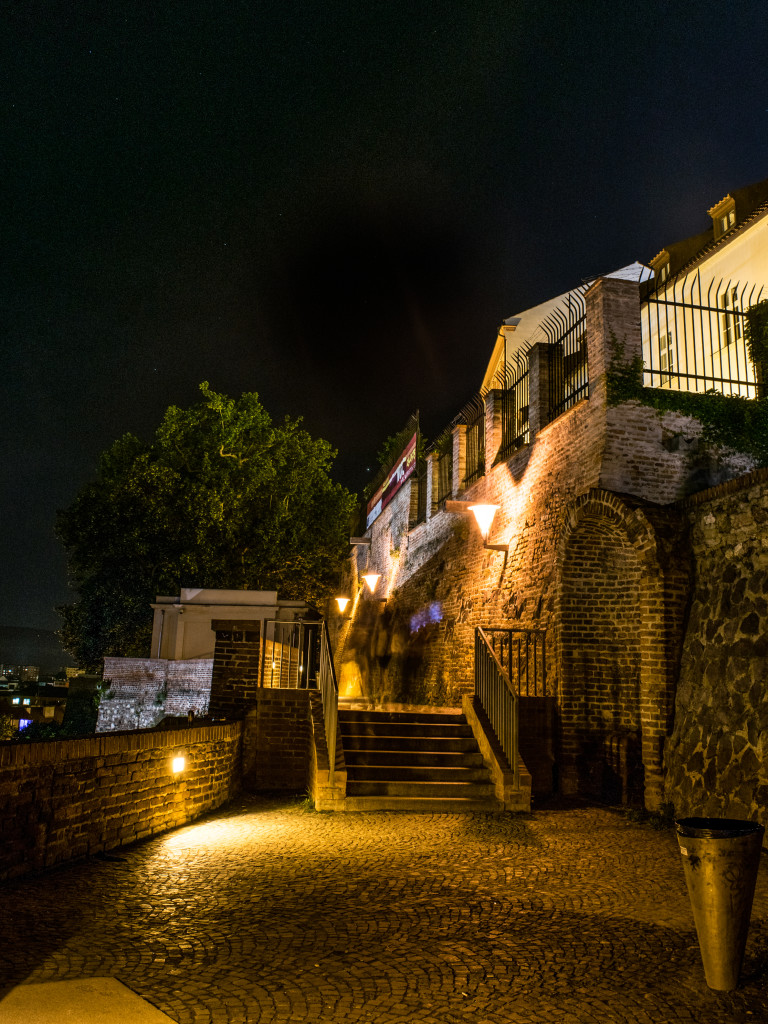 Blízko kapucínských teras