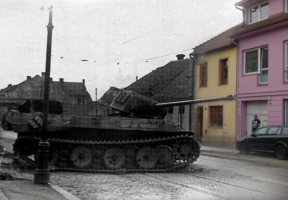 Historie Brna  – Táborská ulice
