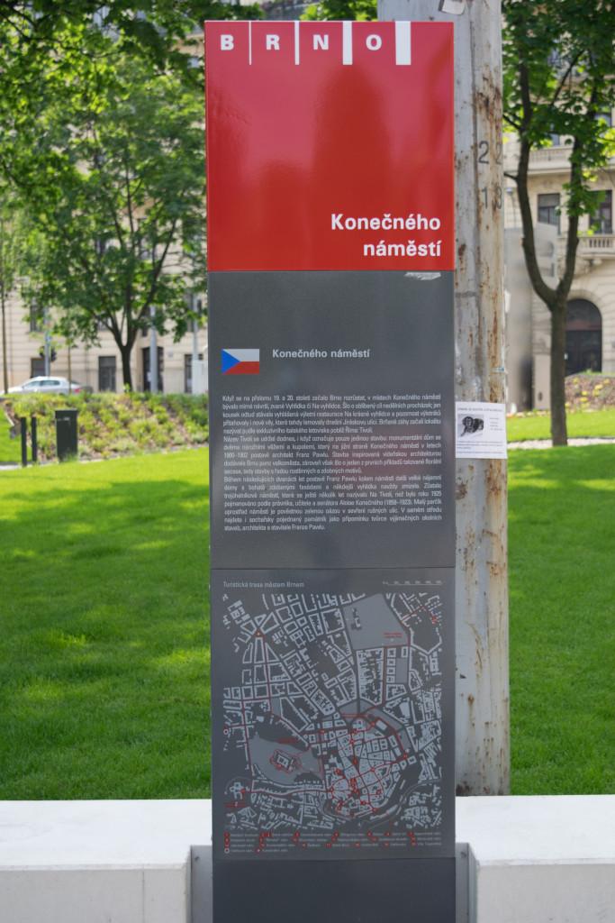 Konečného náměstí, Brno