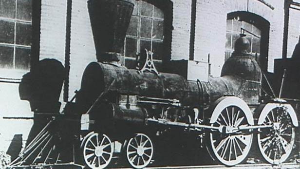 První parní lokomotiva v Brně