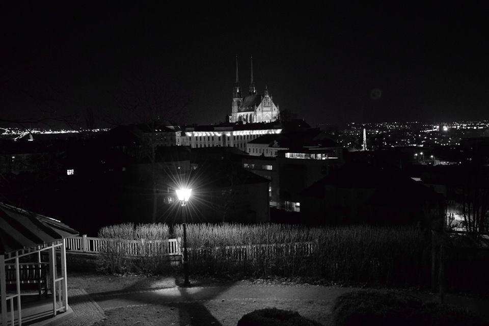Noční pohled na Brno